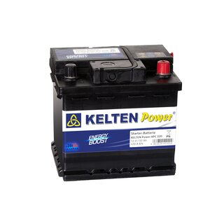KELTEN Power® ENERGY BOOST KPC0220 Starterbatterie 12V 50 AH 420A ENERGY BOOST KPC0220