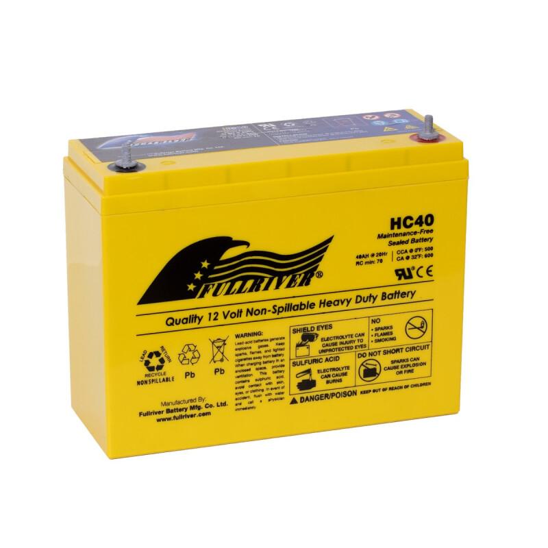 PC545 FULLRIVER HC14B AGM Batterie 12V 14Ah wie Odyssey